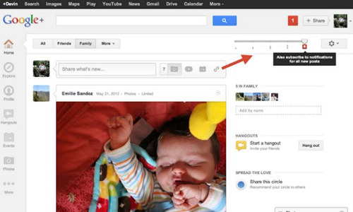 Google+ Update Adds More Functionality to Notifications