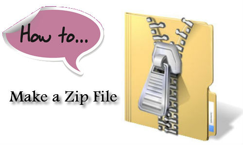How to Create and Use a Zip Or Compressed File?