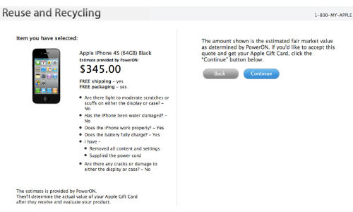 iPhone 5: Apple Opens Recycle Option for 4S