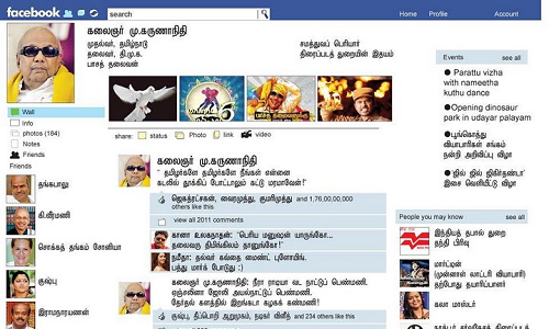 Karunanidhi to join Twitter and Facebook