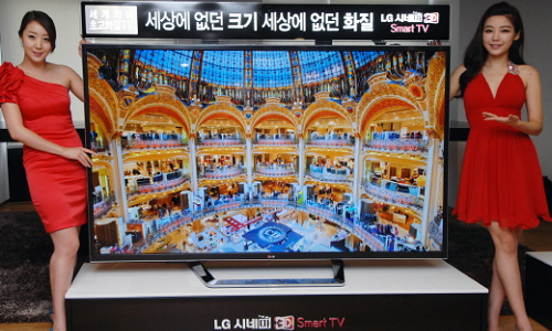 LG Launches World's First 84-inch 4K 3D TV
