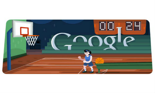Google Interactive Doodle for London 2012 Basketball: What's your score? [Video]