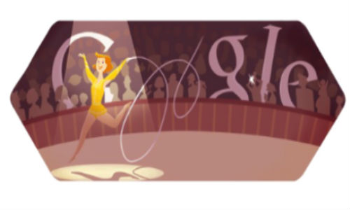 Google Doodle celebrates London 2012 Rhythmic Gymnastics [Video]