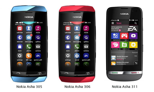 Nokia Asha range Released: The Only Hope For Budget Conscious Indian