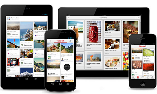 Pinterest unveils Android and iPad apps; updates iPhone App too