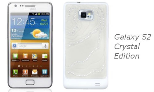 Samsung to Unveil Galaxy S2 Crystal Edition, Designed for Women