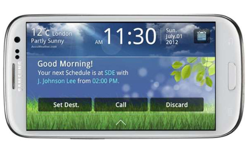 Samsung Unveils Drive Link in-car App for Galaxy S3