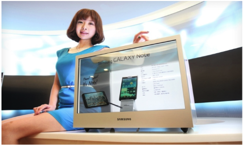 Samsung to Unveil Transparent Displays to Market Next Month [Video]