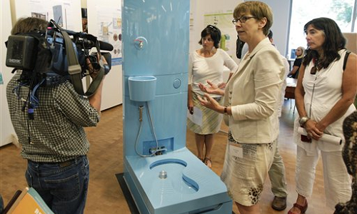 Indian firm wins Gates Foundation grant for eToilet