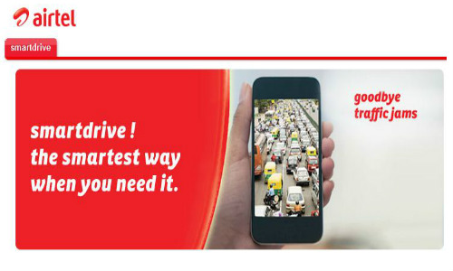 Airtel Launches SmartDrive Mobile App with Voice Navigation And Traffic Updates