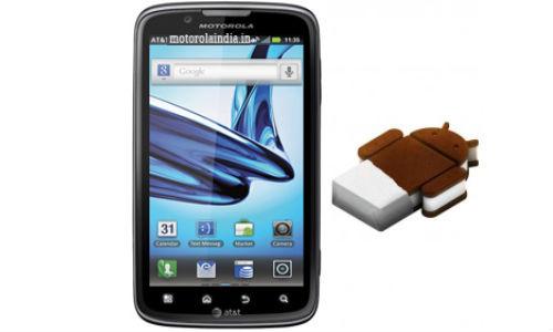 Android ICS Update: Motorola Atrix 2 Getting OTA Update in India