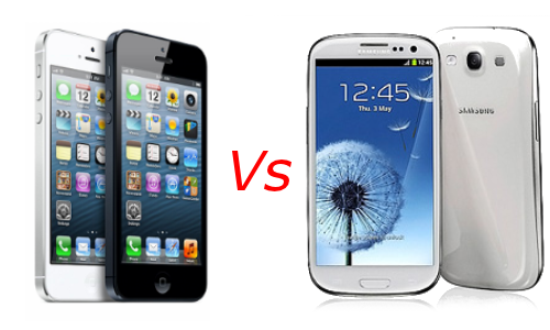 Apple iPhone 5 Vs Samsung Galaxy S3: Battle Between Smartphone Kings