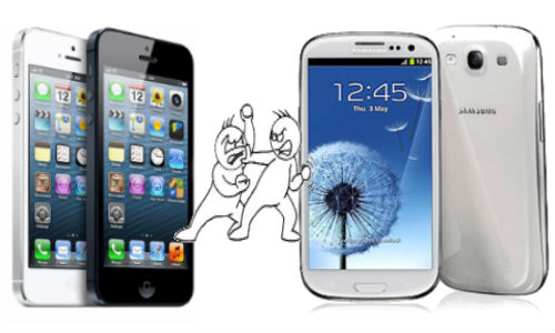 iPhone 5 Shoots Down Samsung Galaxy S3 in the Display Battle [REPORT]