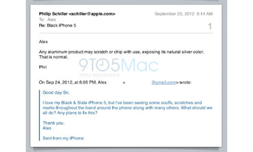 iPhone 5: Scratches and Scuffs Are Normal, Says Apple Chief [Video]