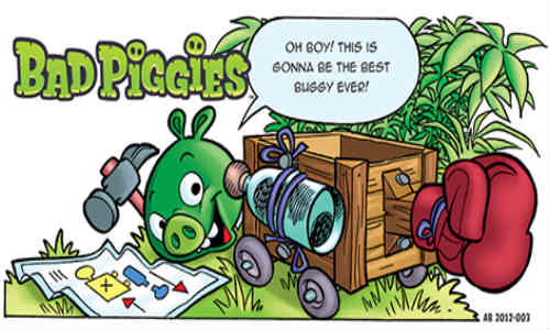 Bad Piggies: Rovio Releases New Comic for Upcoming Game