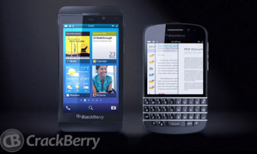 BlackBerry 10 Smartphones Leak: Shows Full Touchscreen Device and QWERTY Hybrid