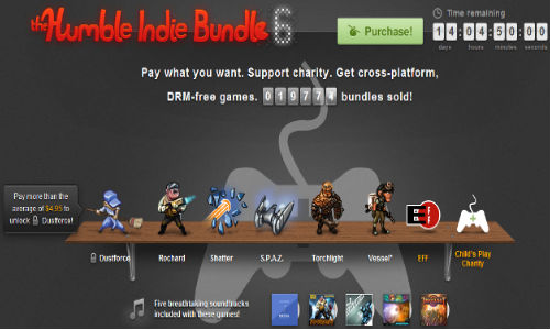 Humble Indie Bundle 6 Breaks Record: 1,90,030 Bundles Already Sold