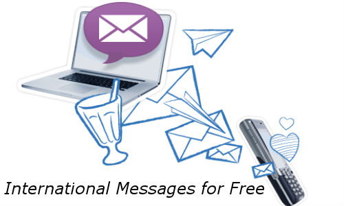 How to Send International Messages for Free?