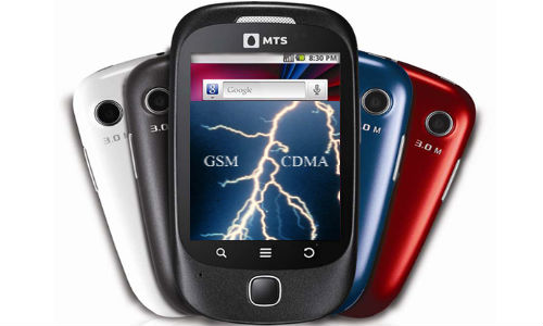 MTS India to launch CDMA and GSM dual SIM Phones in October