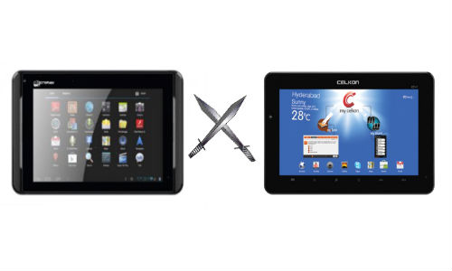 Micromax Funbook Infinity vs Celkon Celtab CT2: Another Low-Cost Android ICS Tablet Fight