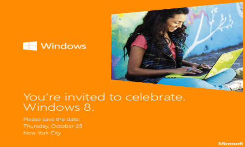 Microsoft October 25 Windows 8 Launch Event: Drops Clues on Surface Pricing
