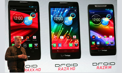 Chrome For Android: Pre-installed on Motorola Droid Razr M, Droid Razr Maxx and Droid Razr HD