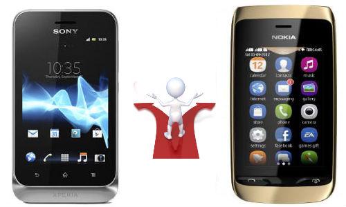 Nokia Asha 308 vs Sony Xperia Tipo: Dual-SIM Newbies Market Release Collision