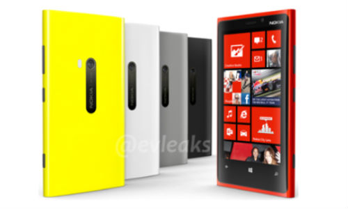 Nokia Lumia 920 in Five Vivid Colors to Launch Today: Final Spec Rundown