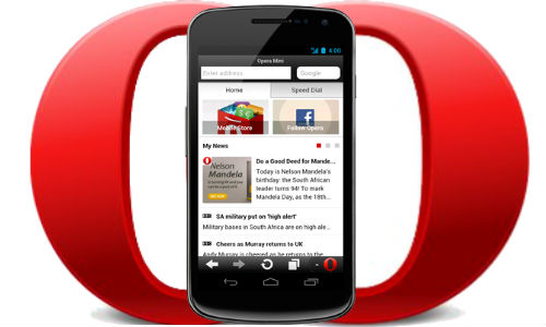 Opera 7.5 Mini for Android Gets 'Smart page' function update