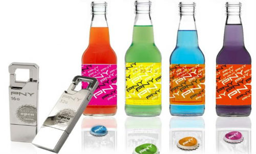 PNY launches Unique Bottle Opener USB Flash Drives