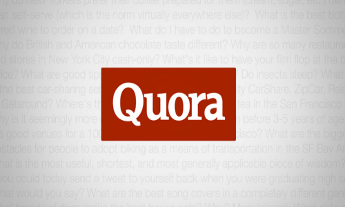 Quora for Android With Voice Search, Widgets And Integrated Voice Search Available For Download