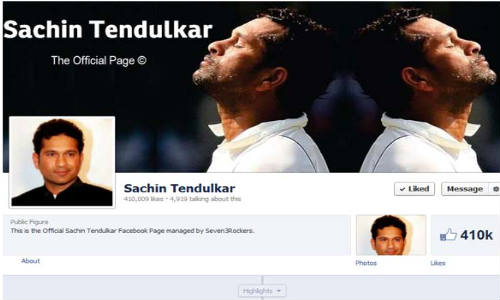 Facebook: Sachin Tendulkar Joins The Social Network Family