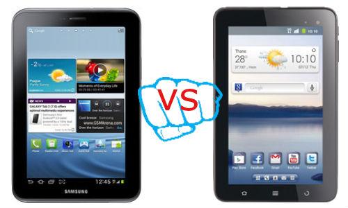 Samsung Galaxy Tab 2 7.0 vs Reliance 3G Tab V9A: 7 inch Tablet Choice Made Easy