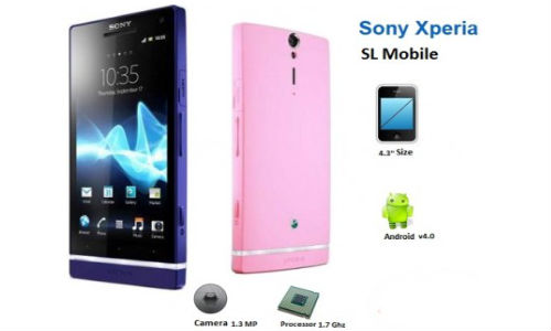 Sony Xperia SL: Price, Specs, Competition and More