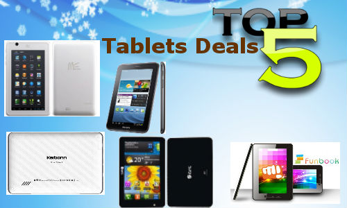 Weekend Guide: Top 5 Hottest Online Tablet Deals This Week