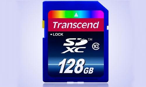Transcend unveils 128GB Class 10 SDXC Memory Card