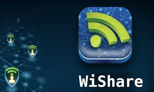 WiShare on  Android: Free App for Free Wi-Fi