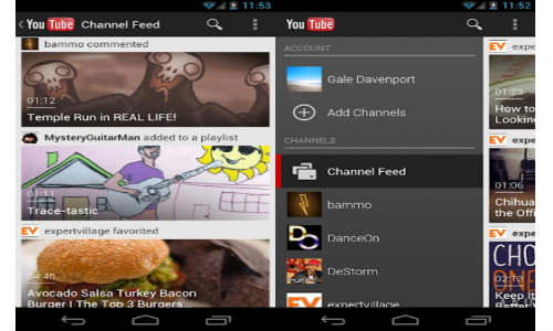 YouTube for Android Froyo, Gingerbread Gets updated with Fresh Interface