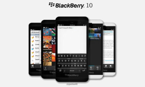 BlackBerry 10 L-Series: Latest Image Leak and Fan-Made Rendering Show NFC Module