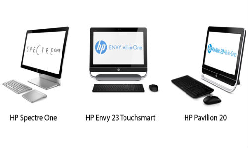 HP Unveils SpectreOne, Envy and Pavilion Windows 8 All-in-One PC Range