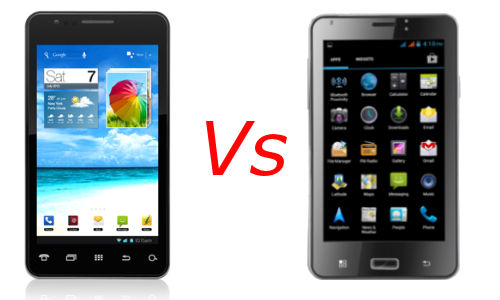 iBall Andi 5c Vs Kobian Mercury MagiQ: Which Dual SIM Android Phablet is Best For You?