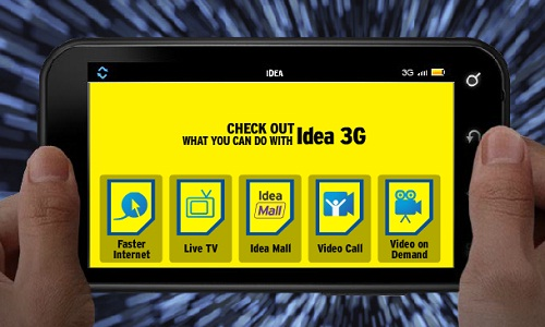 Idea TV app showcased on Aurus 3G Android Smartphone