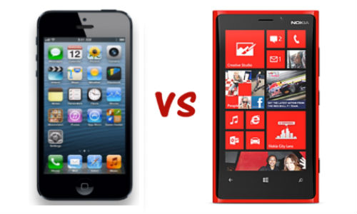 Apple iphone 5 vs nokia lumia 920 and the winner is