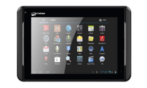 Micromax Funbook Infinity (P275): Budget Android ICS Tablet Launched with 4000mAh battery at Rs 6,999