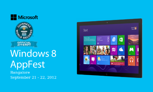 Microsoft Windows 8 App Fest for Developers: How To Register Online?