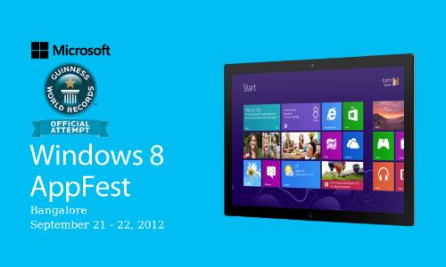 Microsoft Windows 8 App Fest for Developers: How To Register Online?