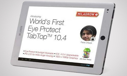 Milagrow TabTop 10.4 with EyeProtect Circuit Now Available at Price starting Rs 23,000