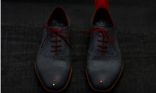 GPS Enabled Shoes Will Now Take You Back Home From Wherever You Are