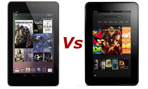 Google Nexus 7 Vs Amazon Kindle Fire HD: Who will win the 7-Inch Tablet Throne?