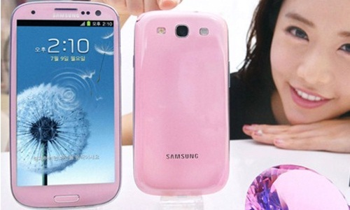 Samsung Galaxy S3: Pink Color Limited Edition Launched in Korea